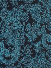 Navy Turquoise - Bunga Bokor